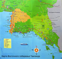 MAP KOH CHANG ISLAND_MAP OF KO CHANG MAP_КАРТА ОСТРОВА КО ЧАНГ_КАРТЫ ОСТРОВА ЧАНГ