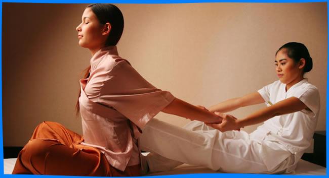 азиатский массаж между ног