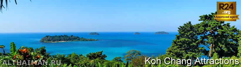 Koh Chang Viewpoints, Koh Chang Attractions
