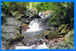 Koh Chang Waterfalls, Koh Chang Attractions, where to find waterfalls in Koh Chang island