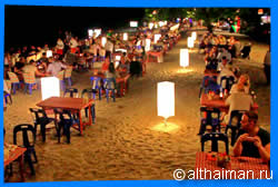Where to Eat in White Sand beach