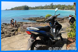 Explore the Island on a Motorbike