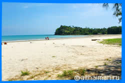 Koh Lanta's North-West beaches