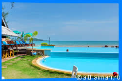 Twin Bay resort, Kaw Kwang beach