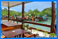 Loh Ba Kao Beach Restaurants