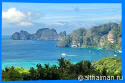 Phi Phi Viewpoints, Phi Phi Attractions