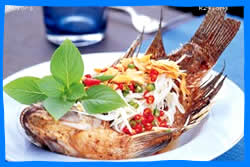 Tonsai Village Restaurants, Where to Eat in Tonsai Village, seafood