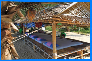 Haad Mae Haad beach massage