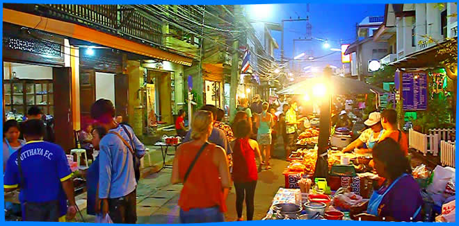 Thong Sala Walking Street