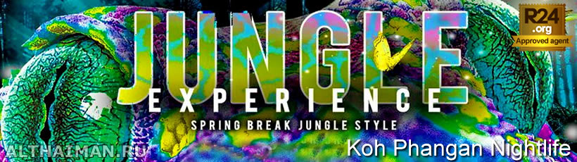 Jungle Experience, Koh Phangan Music Festivals & Parties, Party