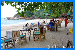 Haad Thong Reng Beach Restaurants & Food