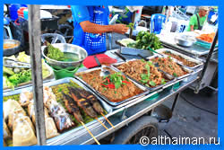 Thong Sala Night Food market