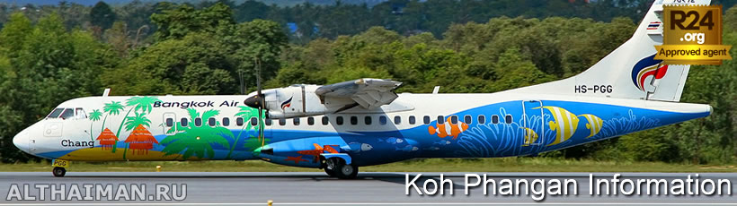 Travel There by Air-Plane, How to Get to Koh Phangan,  Information